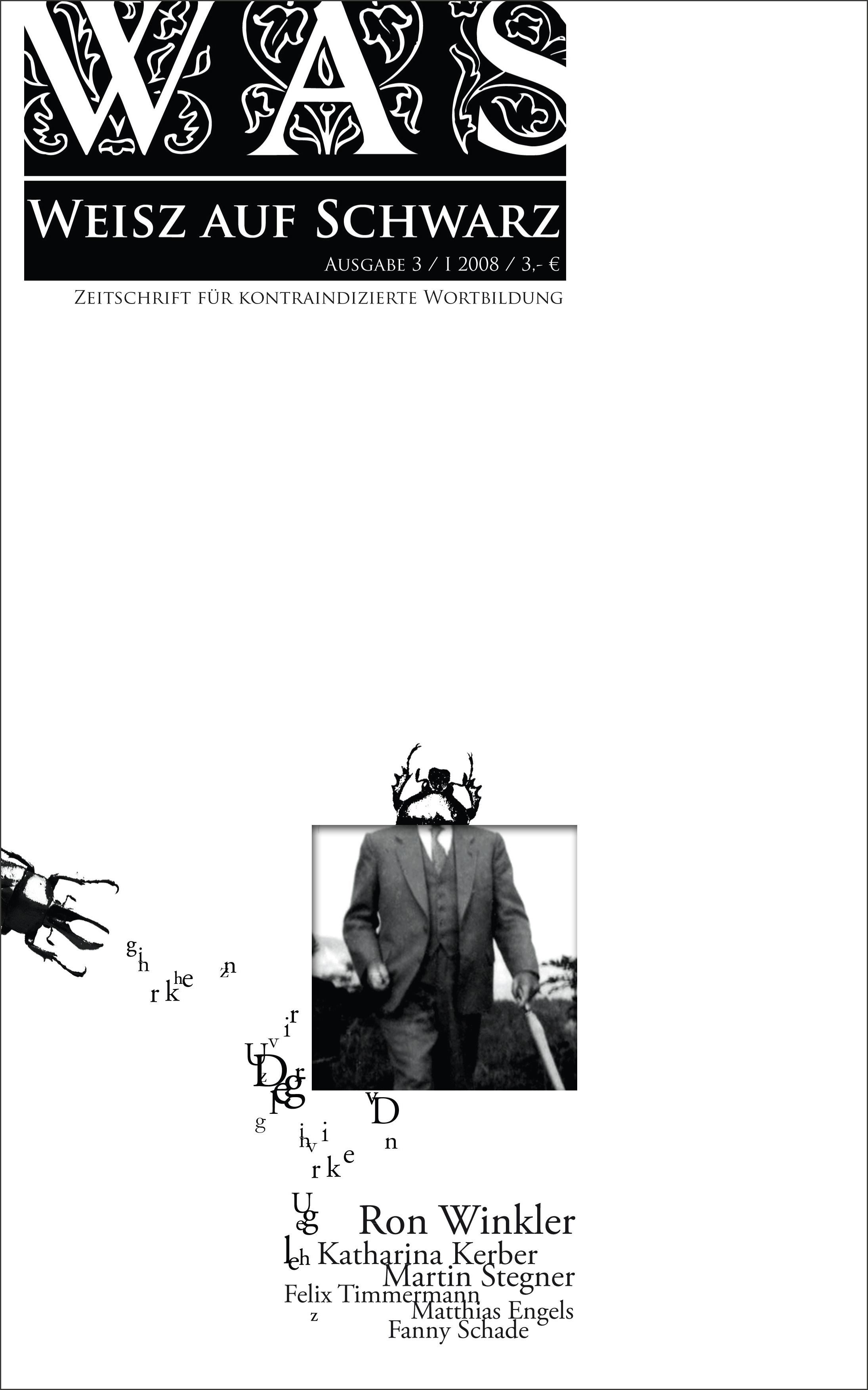 #3 Zeitschrift für kontraindizierte Wortbildung